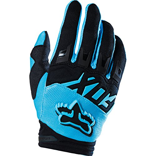 Motorcycle Dirtpaw Gloves (Fox Racing 2016 Dirtpaw Race Youth Boys MX Motorcycle Gloves - Aqua / Large)