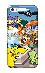 New Design Shatterproof UCULXBw2696arOUD Case For Iphone 5/5s (pokemon)