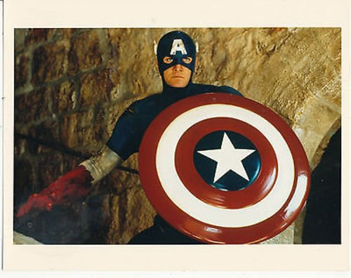 MATT SALINGER/CAPTAIN AMERICA (1990)/8X10 COPY PHOTO CC1579 -