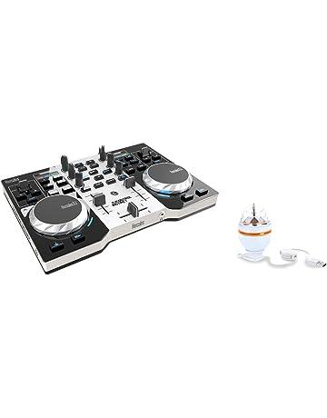 DJ Hercules DJ Control Instinct Party Pack - Mesa Mezclas DJ [ultraportátil, Salidas de