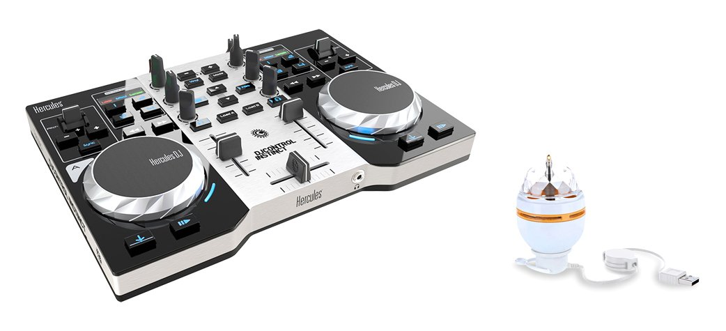 Hercules INSTINCT-S-PARTY-PK DJ Control Instinct Party - 4780846 AMS-DJCONTROL-INST-PACK