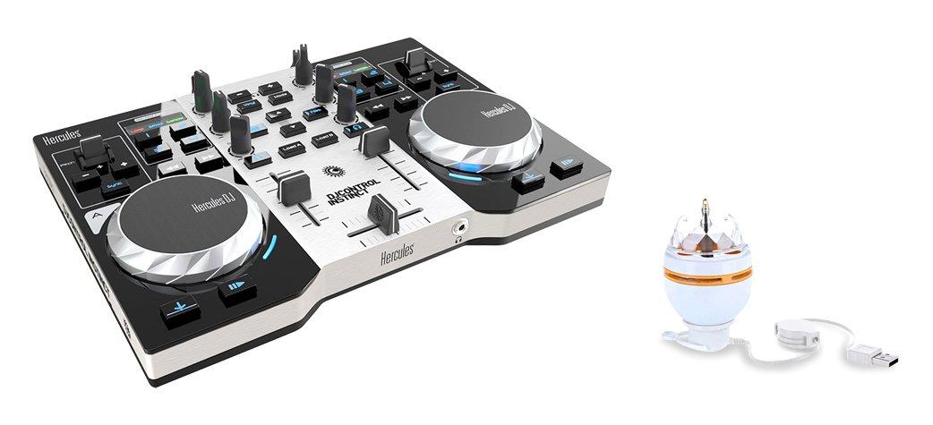 Dj Hercules Dj Control Instinct Party Pack Amazon Es Electronica