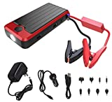 Image of PowerAll PBJS12000R Rosso Red/Black Portable Power Bank and Car Jump Starter