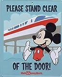 Walt Disney World Monorail Tin Sign