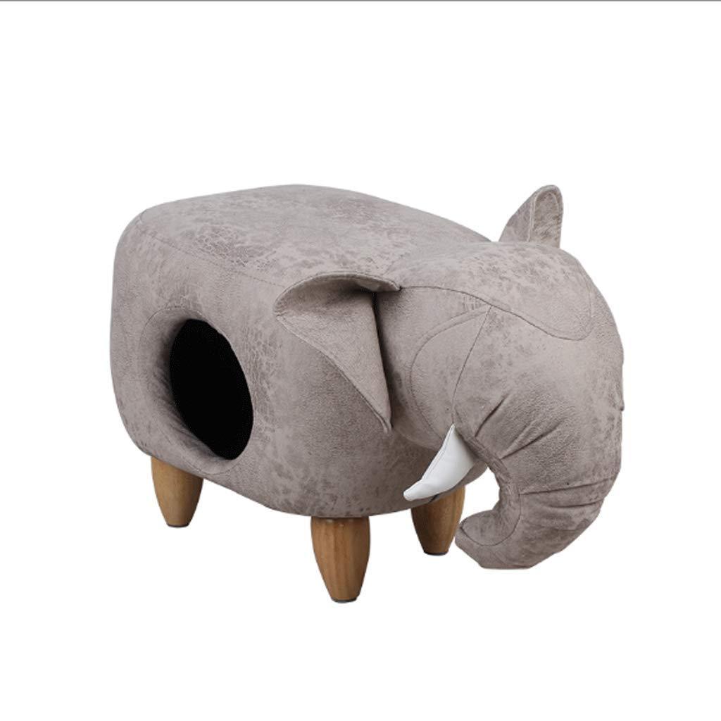 Elephant 623538cm Elephant 623538cm Pet Nest Cat Stool Nest Creative Elephant Pu Leather shoes Bench Cat Litter (color   Elephant, Size   62  35  38cm)