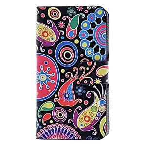 Kids' Imagination World Pattern Full Body Case with Card Slot and Built-in Matte PC Back Cover for iPhone 4/4S