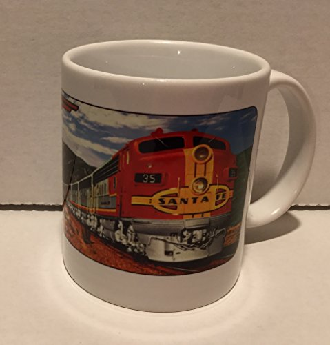 COFFEE MUG - SANTA FE RAILROAD