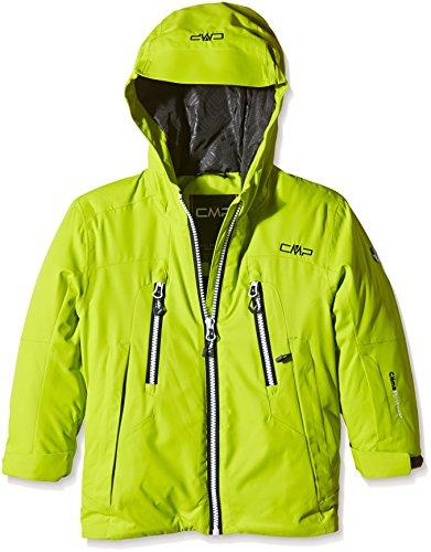 CMP Jungen Jacke Skijacke, Lime Green, 116, 3W03344