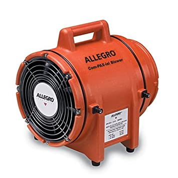 Canister Amps 50Ft Duct Degrees/_Fahrenheit to Volts Allegro Industries Allegro 9533-50 8In AC Blower