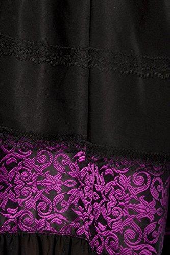 Dirndl noir Élégant Marron Jacquard Rose Premium En noir Xxxl Chemisieramp; rCBoedx