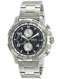 Fossil Men's FS5112 Analog Display Quartz Silver Watch