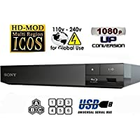 WGC Sony BDP-S1500 Region Free Blu Ray Player Pal/NTSC Zone A B C Rigion 012345678 will play