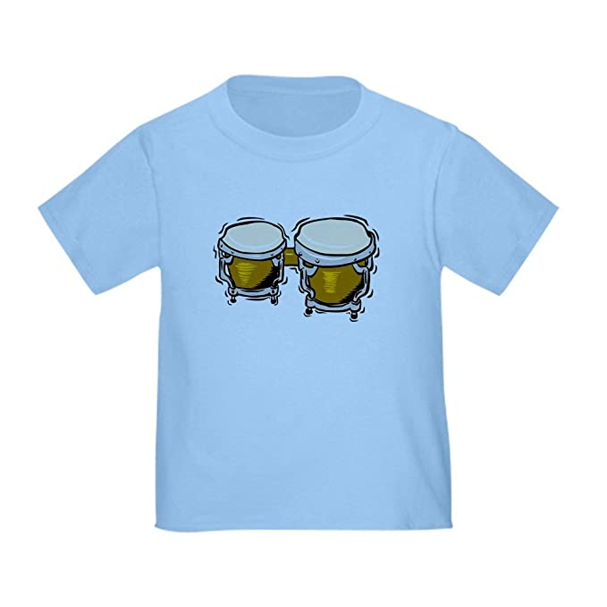 Cafepress Bongo Drums Toddler T Shirt Cute 100