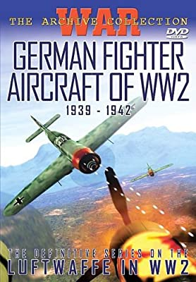 German Fighter Aircraft Of Ww2 1939-1942 Dvd New