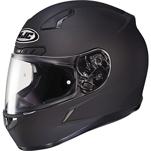 HJC 824-618 CL-17 Full-Face Motorcycle Helmet (Matte Black, 4X-Large)