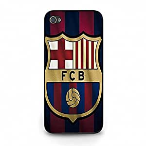 Vintage Elegant Barcelona FC Back Skin Case for Ihpone 5c for Fans Best Love Cover Case