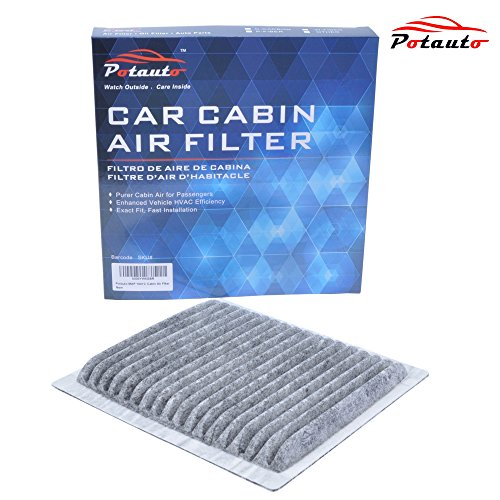 POTAUTO MAP 1041C Heavy Activated Carbon Car Cabin Air Filter Replacement compatible with FORD, LINCOLN, MAZDA