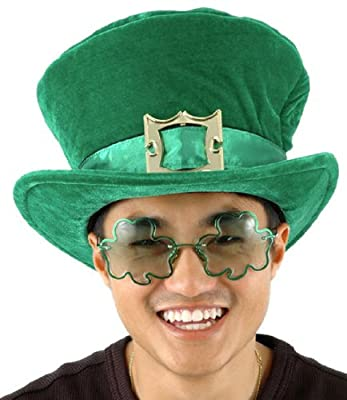 Green Leprechaun Hat with Buckle by elope