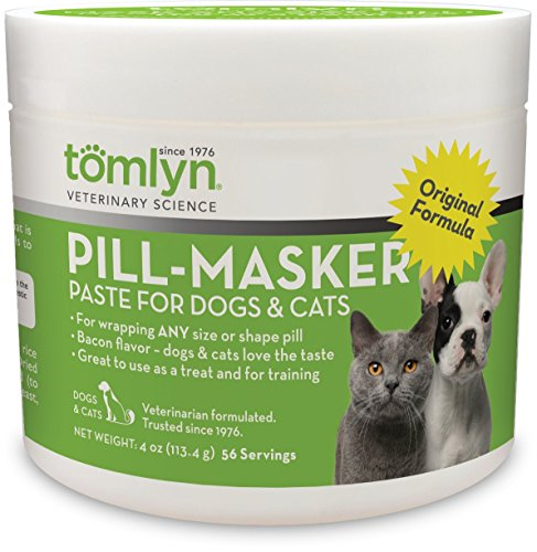 Serving Wrap (Tomlyn Pill-Masker (Original) for Dogs and Cats, 4oz)
