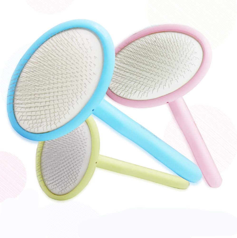 Combs for Dogs Rake Grooming Removes Loose Undercoat Knots Mats Deshedding Tool Brush for Small Medium Large Dogs Cats Horses(Quantity: 3),S by Pet comb