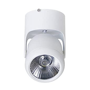 Proyector de Pared LED Cabeza de Proyector Ajustable de 180°Techo ...