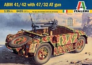 ABM-41/42 Italian Armored Military Vehicle w/47/32 Anti-Tank Gun 1/35 Italeri (japan import)