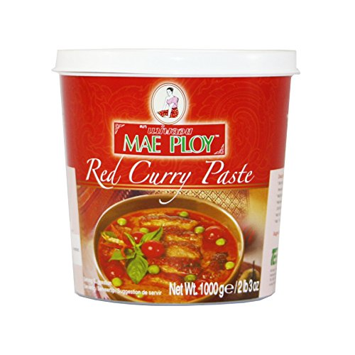 Red Curry Paste - Mae Ploy Red Curry Paste, Large, 2 lb 3 Ounce