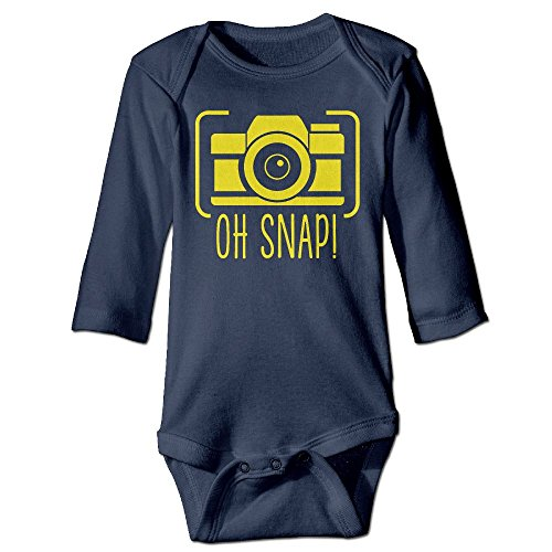 Price comparison product image Oh Snap Camera Long Sleeves Newborn Baby Special Baby Climbing Clothes Size Key