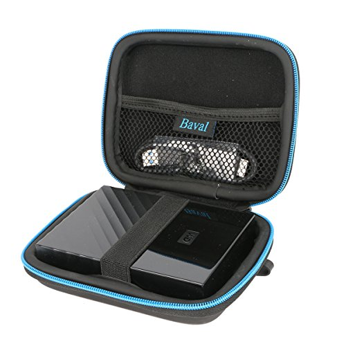 For Western Digital WD USB 3.0 My Passport Portable External Hard Drive Hard Case by Baval