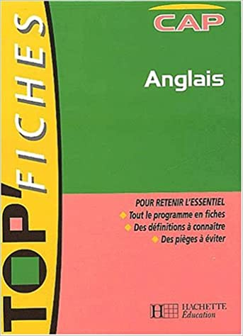 Download Top'Fiches : Anglais, CAP (Fiches) pdf, epub