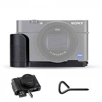 Funda R/ígida en Negro para su C/ámara Digital Sony DSC-RX100/Vi