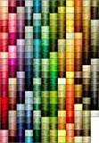 260-cone Polyester Embroidery Thread Kit - 260 colors - 1100 yards - 40wt