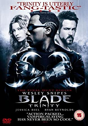 Image result for blade trinity dvd