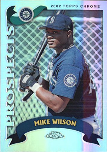 2002 Topps Chrome Traded Refractors #T223 Mike Wilson - NM-MT