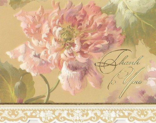 Carol Wilson Fine Arts Sake BTY0142 Boxed Carol's Rose Garden Pink Peony