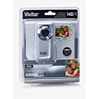 Vivitar DVR426HD-SIL-JCP LIC JPEG Video Recording Flip Digital Camera (Silver)