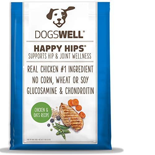 Dogswell Happy Hips For Dogs, Chicken & Oats Dry Dog Food,...