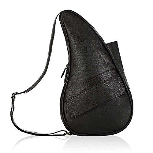 Classic Leather Healthy Back Bag Extra Small Sling Color: (Ameribag Black Bag)