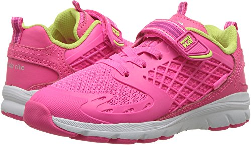Stride Rite Made 2 Play Cannan Running Shoe, Pink, 1 M US Little Kid