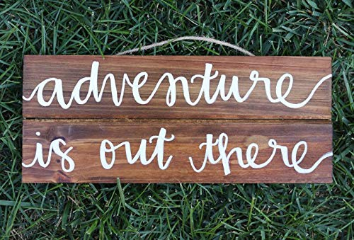 Eli231Abe Adventure is out There - Cartel de Madera para ...