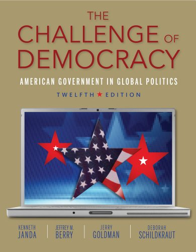The Challenge of Democracy (Book Only)