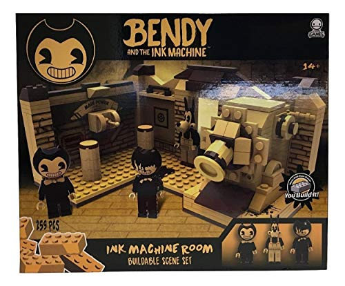 Basic Fun Bendy & The Ink Machine - Room Scene (259Piece)