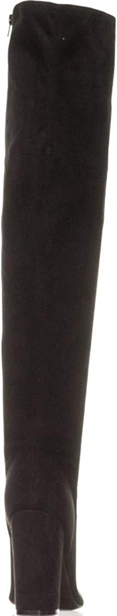 Guess Womens casidi Open Toe Over Knee Fashion Boots