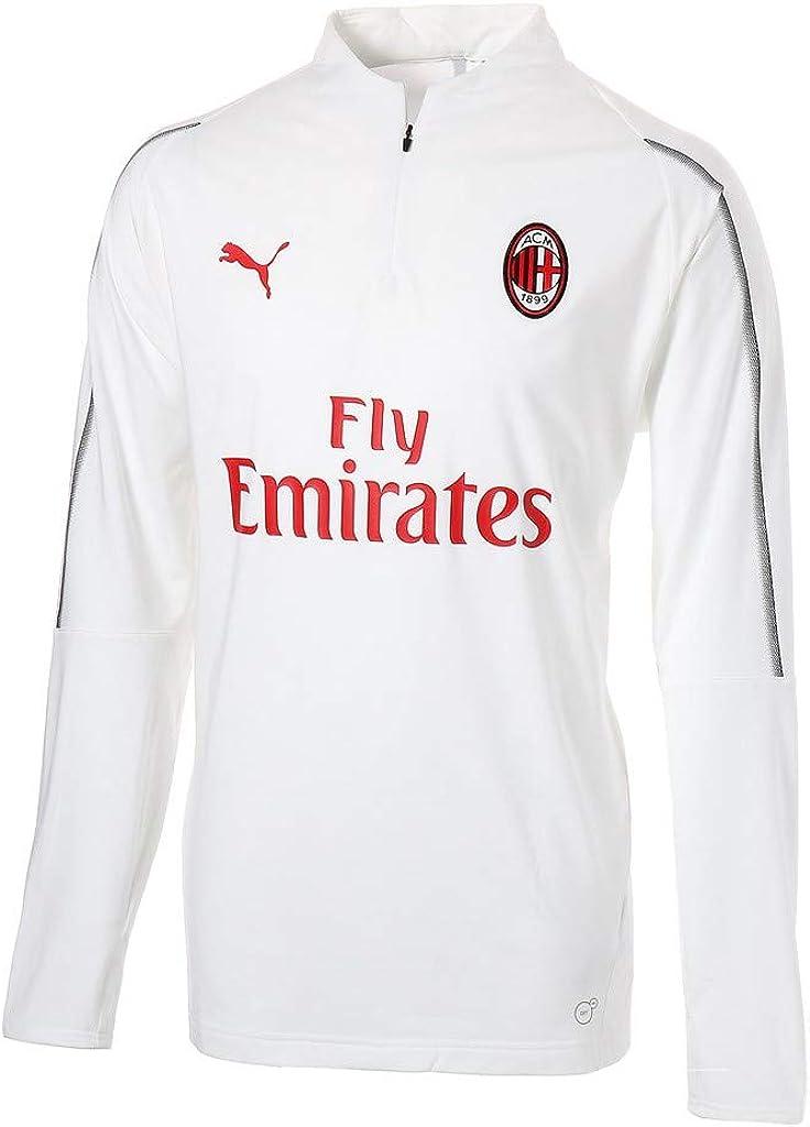 PUMA AC Milan1/4 with Zipped Pockets with Sponsor Camiseta Hombre