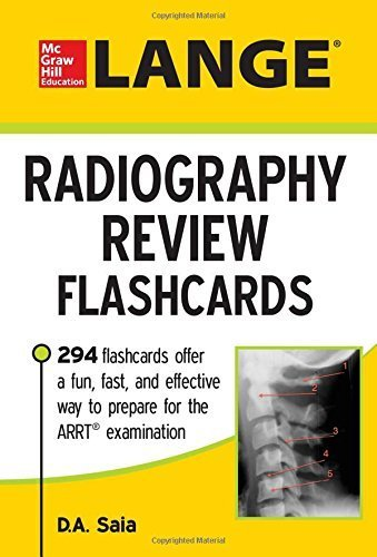 LANGE Radiography Review Flashcards by Saia, D.A. (February 12, 2015) Paperback 1