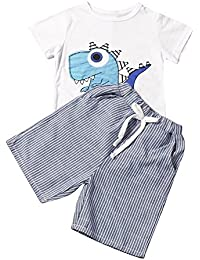 Toddler Kid Baby Boys Clothes Outfits Set: Cartoon...