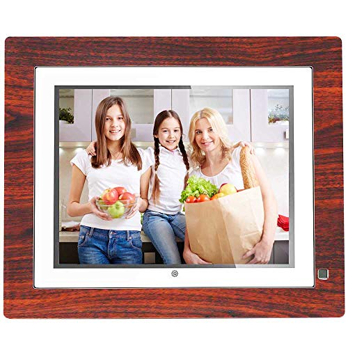BSIMB Digital Picture Frame Digital Photo Frame 9 inch IPS Display 1067x800(4:3) Hi-Res Digital Photo & HD Video Frame and Motion Sensor USB/SD Card Playback Infrared Remote Control M09 by Bsimb (Image #6)