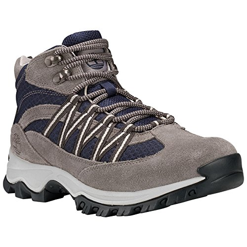 (Timberland A1LBS Women's Mt. Maddsen Lite Mid Hiking Boots, Steeple Grey - 12 M)