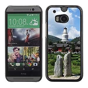 Be Good Phone Accessory // Dura Cáscara cubierta Protectora Caso Carcasa Funda de Protección para HTC One M8 // Nature