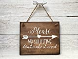 Best No Soliciting Signs - No Soliciting Sign No Soliciting Door Sign Do Review